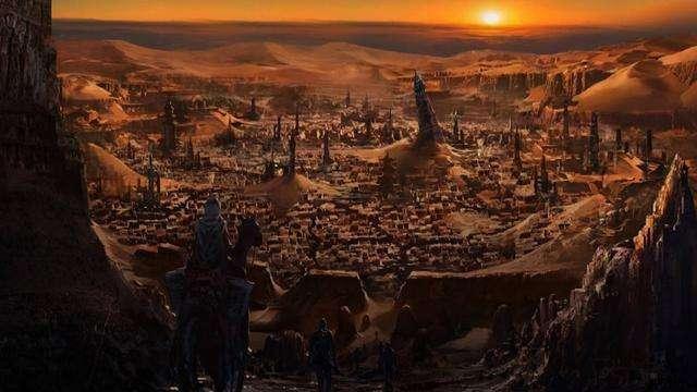 中国千年古城消失无踪, 无数宝藏至今下落不明, 却被一外国人发现.图片