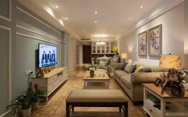 装修  新房110㎡美式三居室,超级舒服