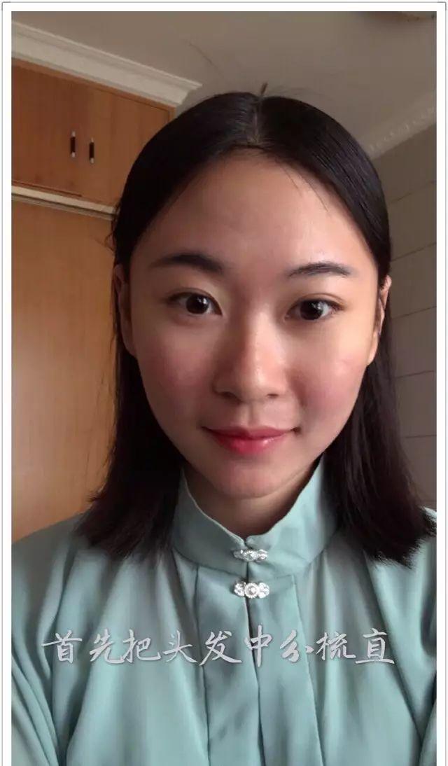 【汉服发型】清新简约齐肩短发教程
