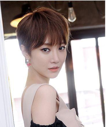 光看粉丝就知道高俊熙的短发有多成功,相信不少人也是因为短发的她太图片