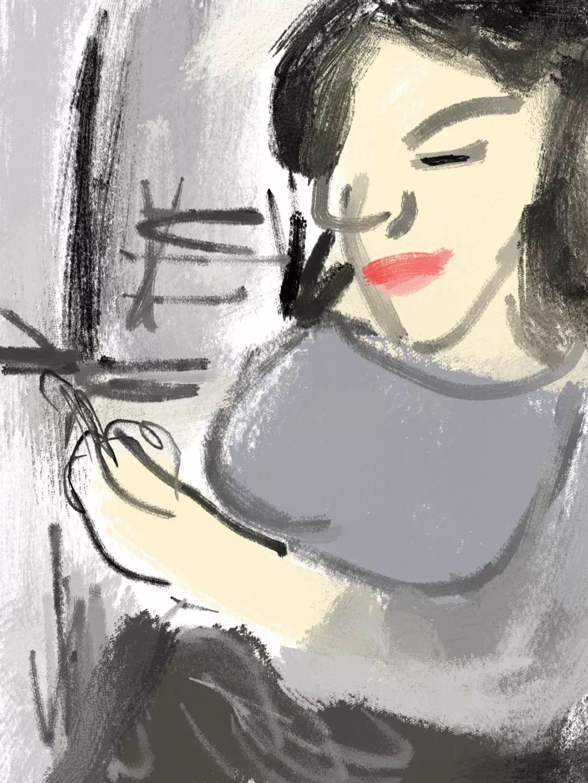 酥麻的嫩穴奸得超爽_拿着手机侧身站立的自拍-数码绘画