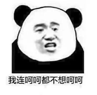 一大波熊猫头表情包了解一下图片
