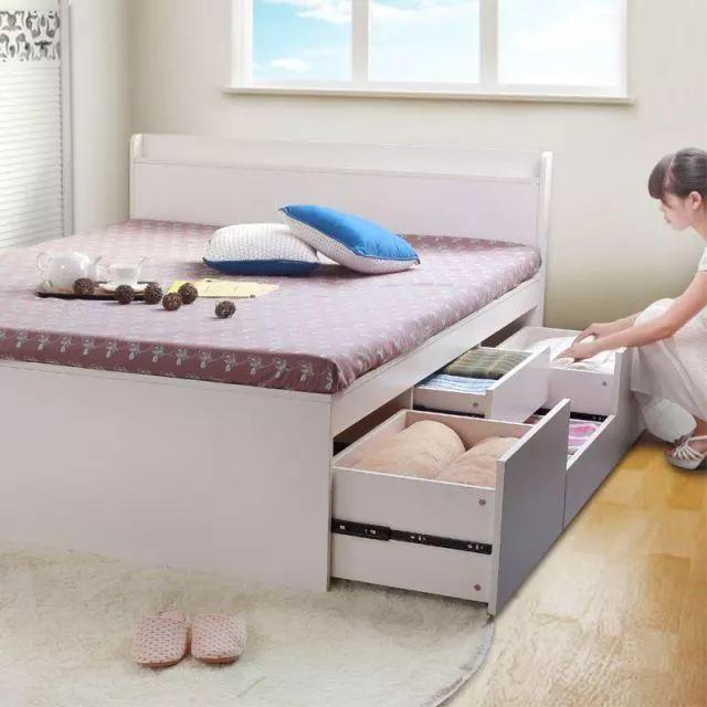 鲁班学堂丨实木气压高箱床安装图片