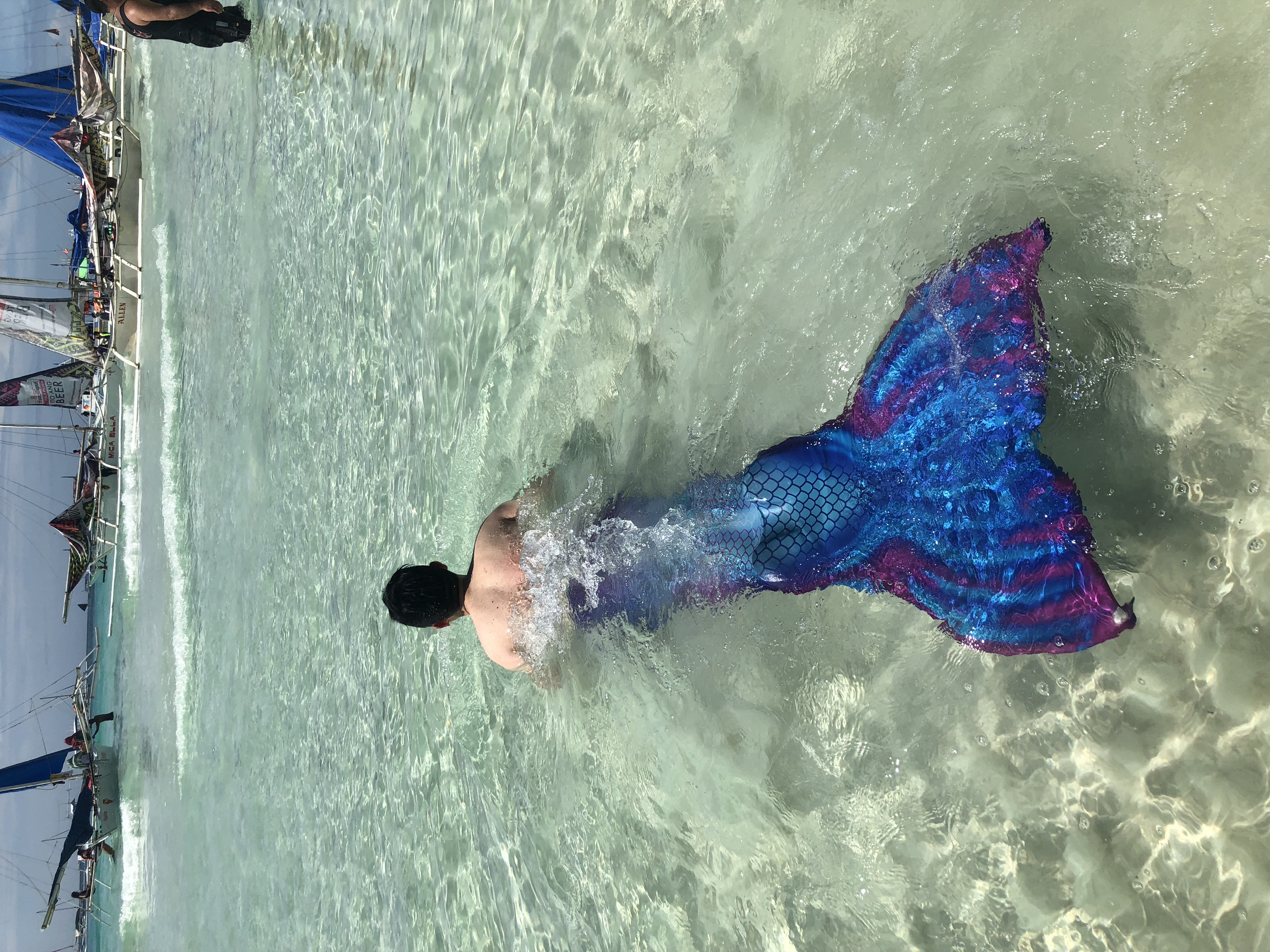 长滩岛人鱼学校 学习像鱼一样游泳