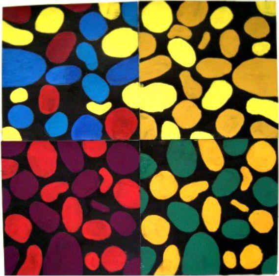 自怕色图区_万能配色技巧起源2--色彩对比(纯