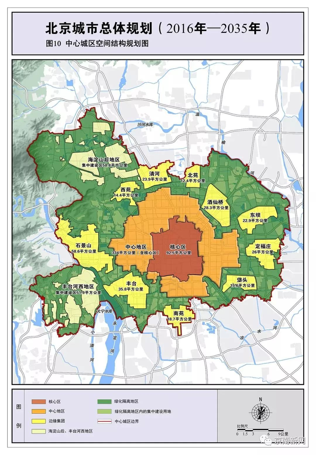 重磅 北京城市总体规划发布,带您了解20年后的北京