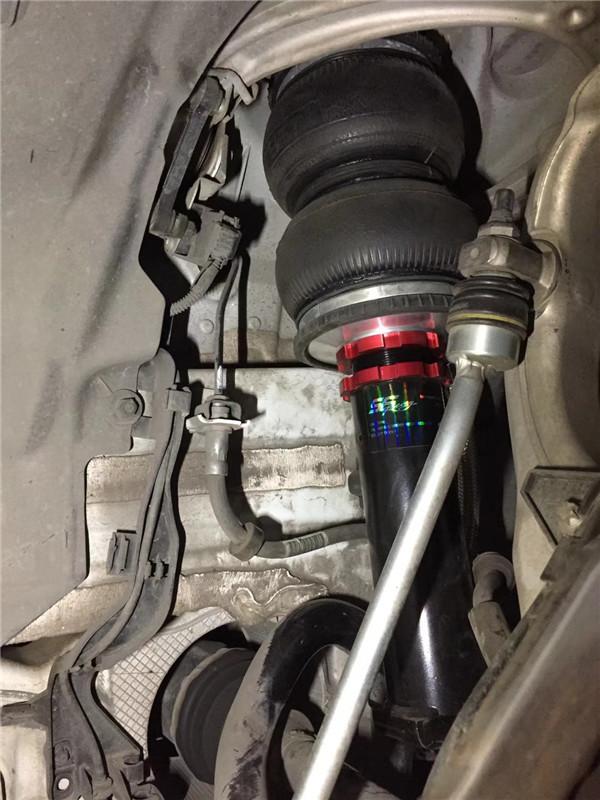 奢华品质之选 新款奔驰c级w205安装美国endo气压避震悬挂套件完美姿态图片