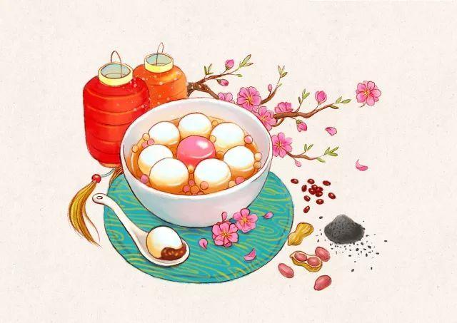 元宵节 | 请接收这份来自糯米团子的祝福图片