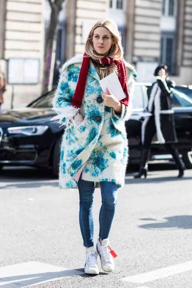 2018秋冬巴黎时装周街拍