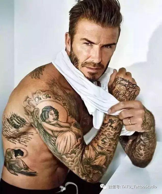 纹身界的万人迷--小贝