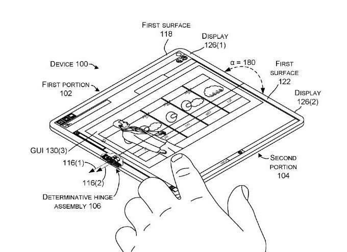 微软新专利曝光,手机平板可变成笔记本电脑