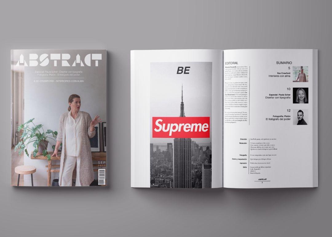 设计公司总监教你:如何用indesign表达你的创意!图片