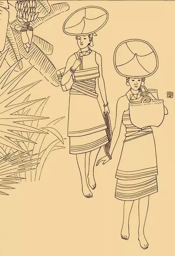 花腰傣 傣族图片