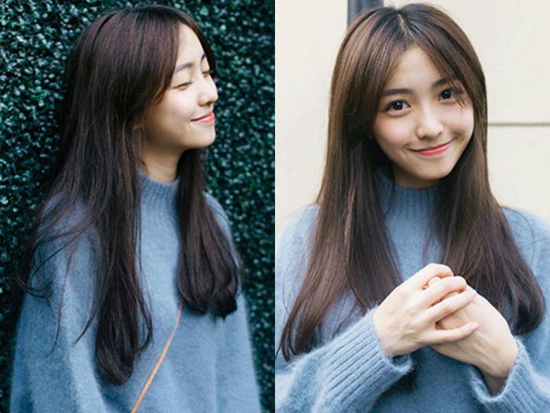 【希菲洛武汉广埠屯】今年流行什么发型,女生温柔系中长发最显气质!图片
