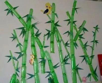 儿童手工制作竹叶