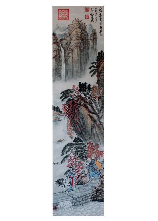 著名艺术家周钰玻绘画作品欣赏