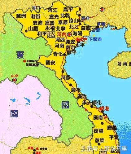 越南的疆域比中国小得多,为何全国划分了58个省份?