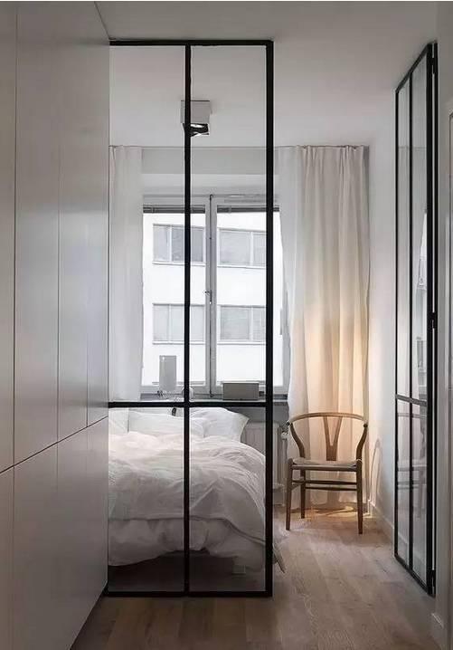公寓装修隔断用玻璃,打造通透理想空间无压力图片
