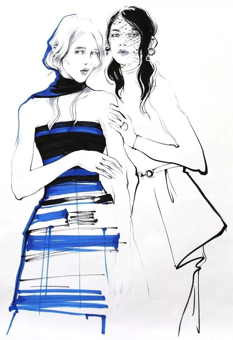 维欧杭州 | 3月暖心课程 · 马克笔服装手绘零基础课程开始报名啦