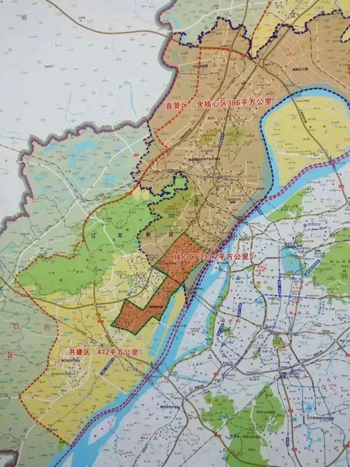 江北新区2020人口总数_南京江北新区区域划分