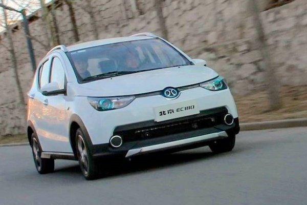 1月全球电动车销量Top10车型:北汽EC高居榜首