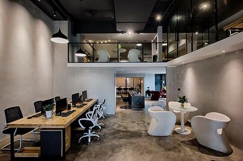 打破传统的loft办公室设计,装修效果就是高