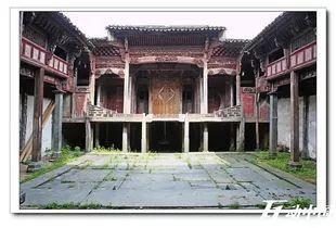 徽州文化系列谈——徽州古戏台