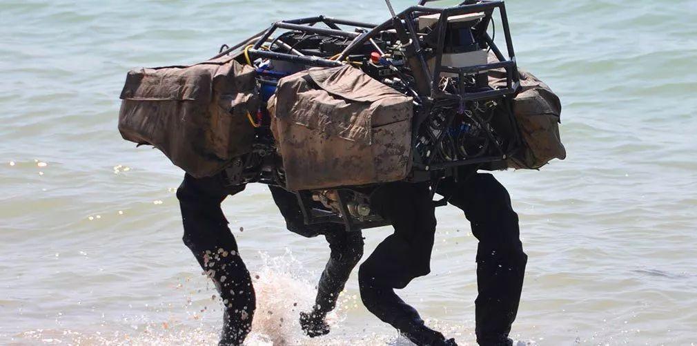 1kw直流无刷电机,Big Dog到Spot Mini:波士顿动力「四足机器人」进化史