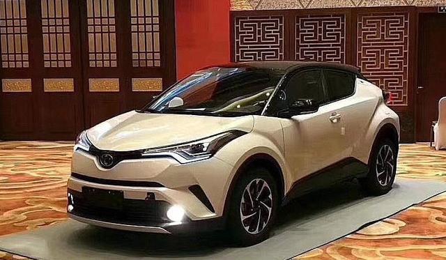 丰田C-HR、奕泽双车战略即将启动,想抢合资小型SUV制高点?
