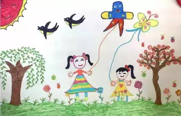 春天来临,春姑娘开始穿上花衣裳,把花儿,草儿, 春天有那么多奇妙的图片