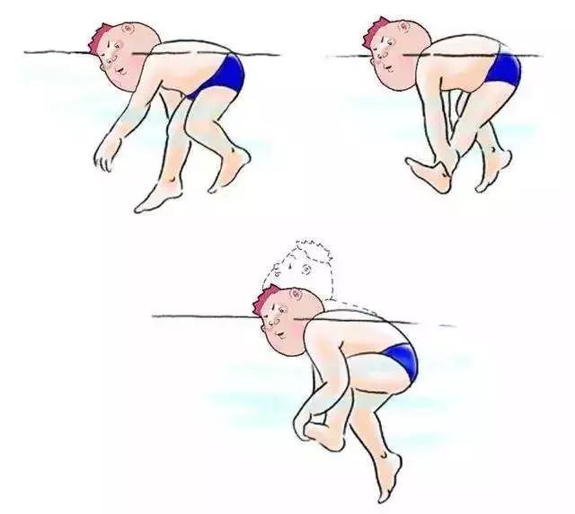 体育 正文  小腿抽筋,可以自己用手抓着脚尖往后扳,拉伸小腿后面的图片