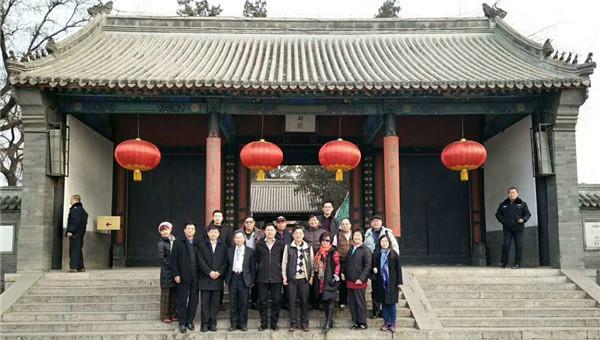 中华两岸人民和平促进协会 大陆事务部 河北办事处主任 董铁棍陪同