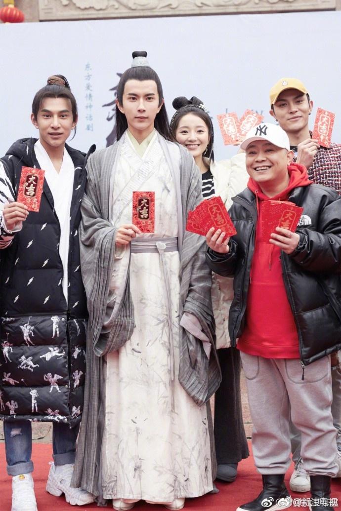 新版《新白娘子传奇》开机 鞠婧祎搭档于朦胧出演