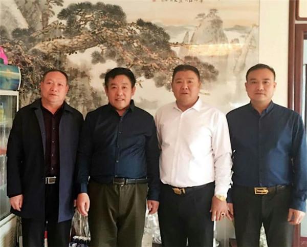 河北电视公共频道《跟着画家去旅行》栏目在行健公司进行书画交流