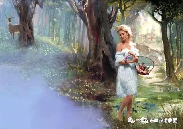 Rose【英国油画般的摄影:女子丰盈妩媚一片芳菲入水】 - roseyang888 - roseyang888的博客