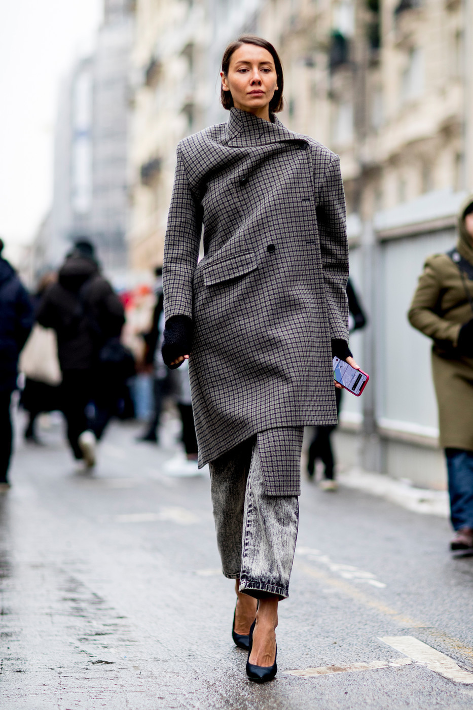 2018秋冬巴黎时装周秀场外街拍:灵感无限多