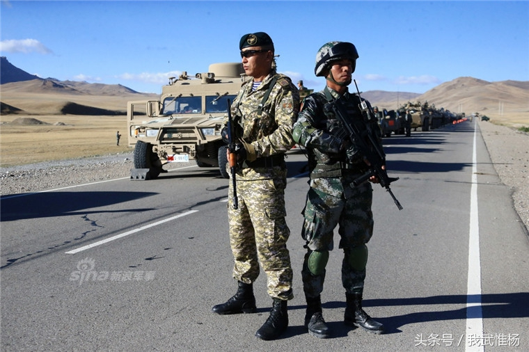 此次联演,中国,哈萨克斯坦,吉尔吉斯斯坦,俄罗斯和塔吉克斯坦分别派出