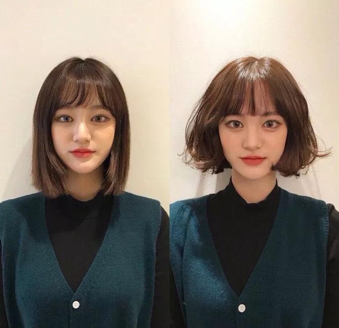 有一种整容,叫做换对发型!