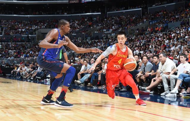 非常有才华封欧文,国家队主控赵继伟上限在哪里?曾参加NBA选秀!