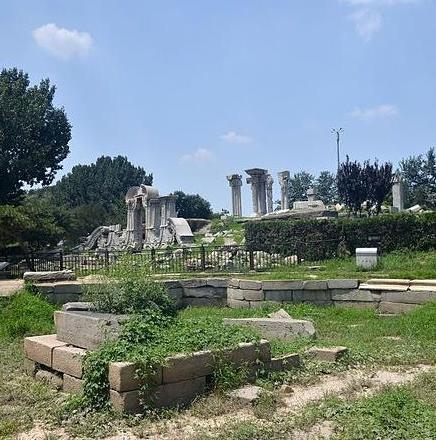 圆明园中的大水法遗址,为什么被称为中西营造艺术完美融合的典范?