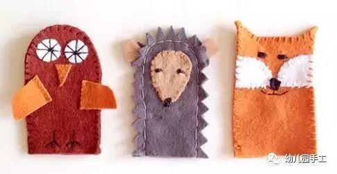 【益智手工】幼儿园创意手工制作萌萌的手指玩偶,这个手工它会动