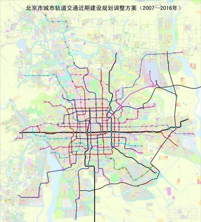 北京地铁r4线规划图
