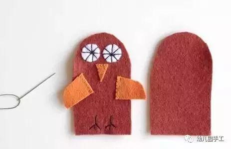 【益智手工】幼儿园创意手工制作萌萌的手指玩偶,这个