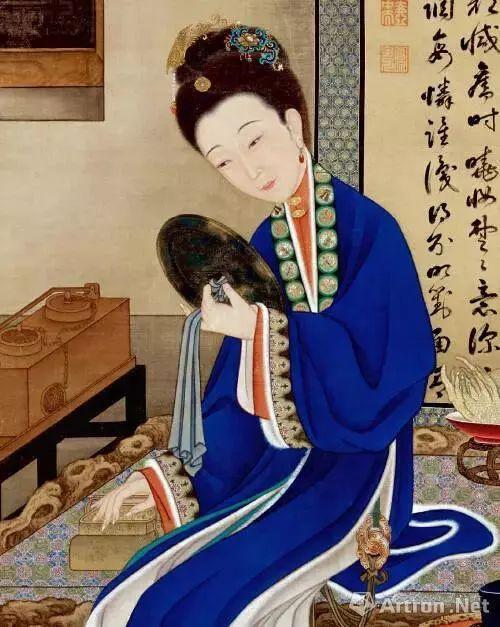 """古代美女之唐代才女步非烟 新的一天,刷牙洗脸梳妆打扮,之所谓""""女为"""