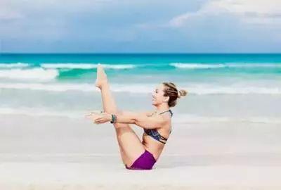 """练瑜伽的汗水,才是最好""""保养品""""!"""