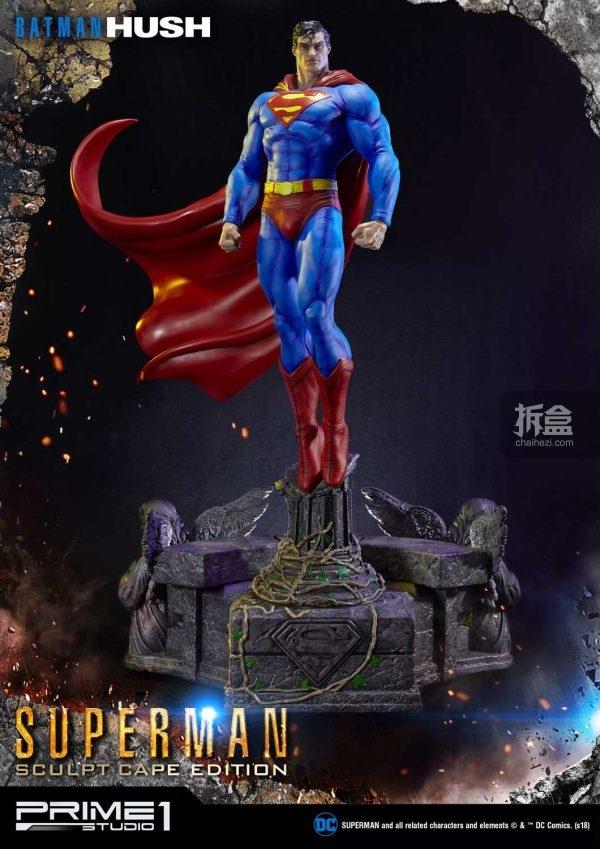 蜘蛛侠猫女h_Prime 1 Studio DC漫画《蝙蝠侠:寂静》超人漫画造型1:3雕像