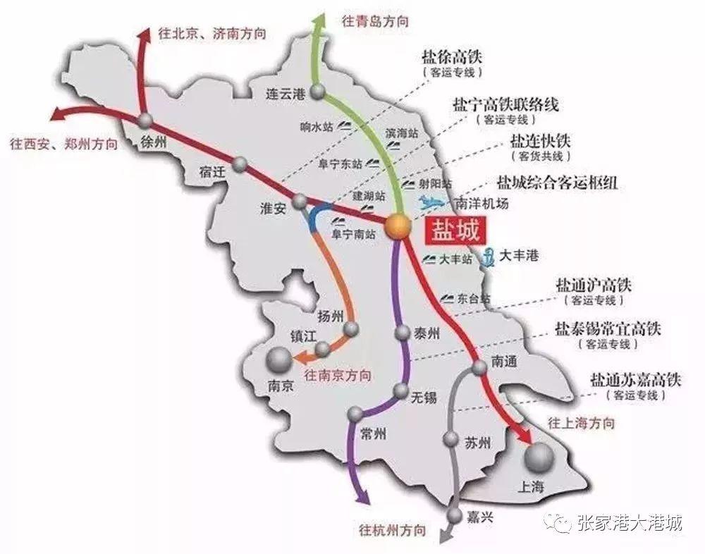 江苏新增10条高铁线,太仓即将进入