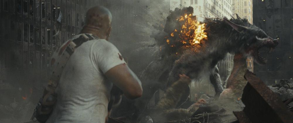 电影《狂暴巨兽》定档4月13日同步北美!
