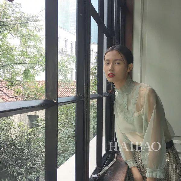 中国新生模特赵佳丽
