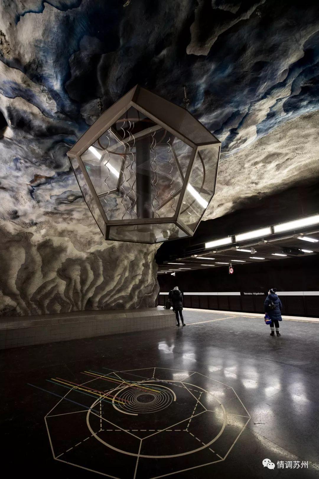 买张地铁票,就能欣赏长达110公里的底下艺术王国 | 柚子画报